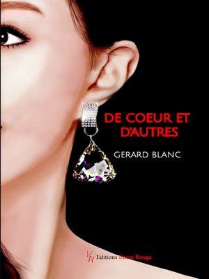 cover image of De cœur et d'autres