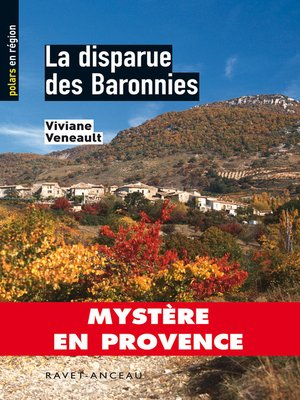 cover image of La disparue des Baronnies