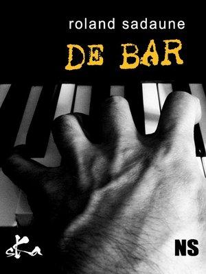 cover image of ...de bar