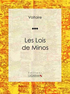 cover image of Les Lois de Minos