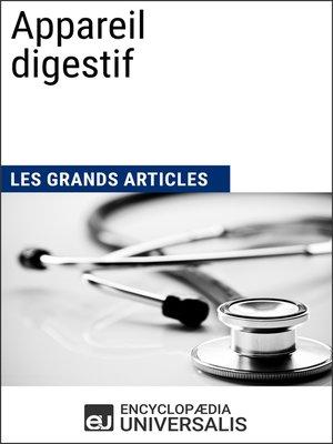 cover image of Appareil digestif