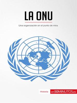 cover image of La ONU