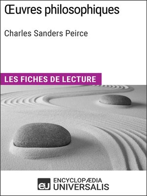 cover image of Oeuvres philosophiques de Charles Sanders Peirce