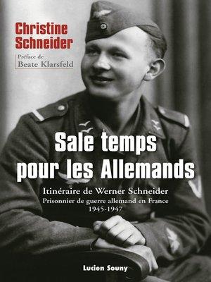 cover image of Sale temps pour les Allemands