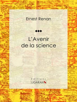 cover image of L'avenir de la science