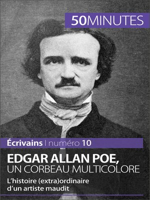 cover image of Edgar Allan Poe, un corbeau multicolore
