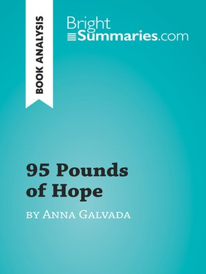 cover image of 95 Pounds of Hope by Anna Gavalda (Book Analysis)