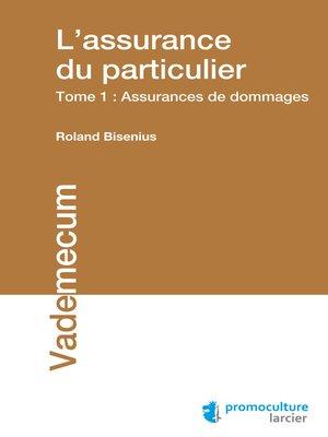 cover image of L'assurance du particulier