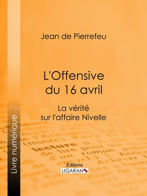 cover image of L'Offensive du 16 avril