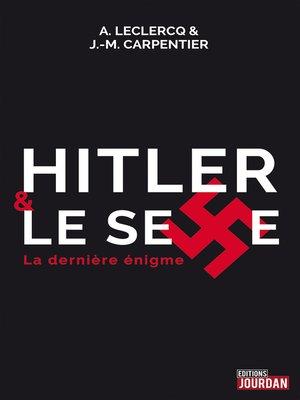 cover image of Hitler et le sexe