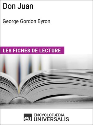cover image of Don Juan de George Gordon Byron