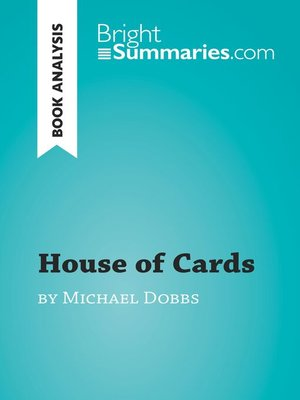 cover image of House of Cards by Michael Dobbs (Book Analysis)