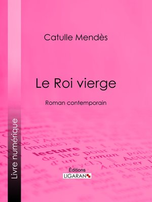 cover image of Le Roi vierge