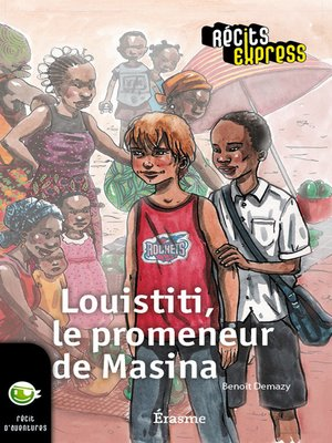 cover image of Louistiti, le promeneur de Masina
