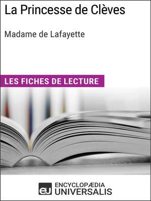 cover image of La Princesse de Clèves de Madame de Lafayette