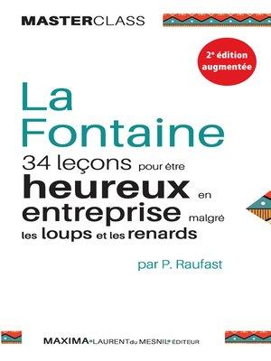 cover image of La Fontaine