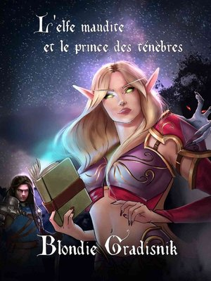 cover image of L'elfe maudite et le prince des ténèbres