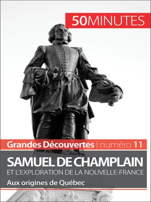 cover image of Champlain et l'exploration de la Nouvelle-France
