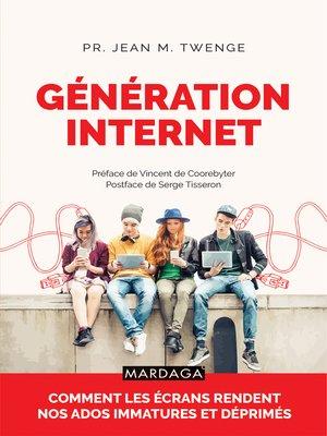 cover image of Génération Internet