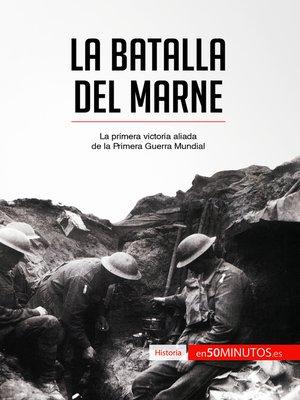 cover image of La batalla del Marne