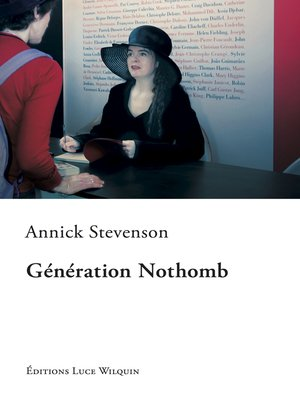cover image of Génération Nothomb
