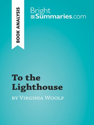 cover image of To the Lighthouse by Virginia Woolf (Book Analysis)