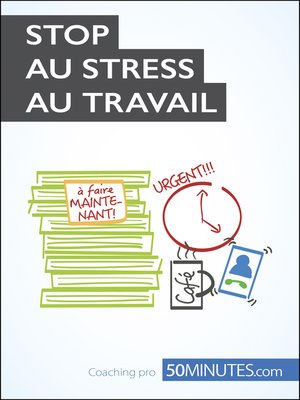 cover image of Stop au stress au travail