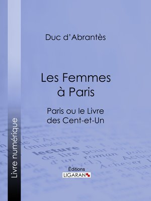 cover image of Les Femmes à Paris