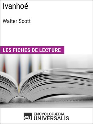 cover image of Ivanhoé de Walter Scott