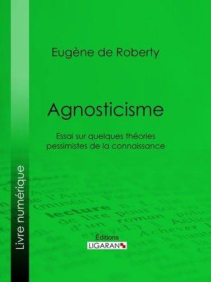 cover image of Agnosticisme