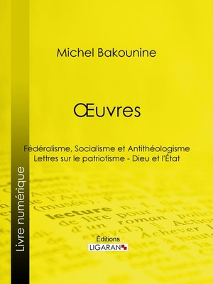 cover image of Œuvres