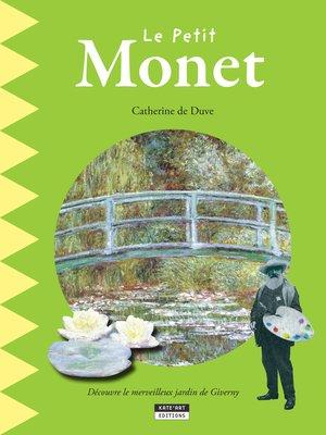 cover image of Le petit Monet