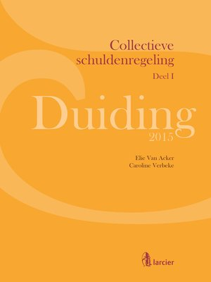 cover image of Duiding Collectieve schuldenregeling