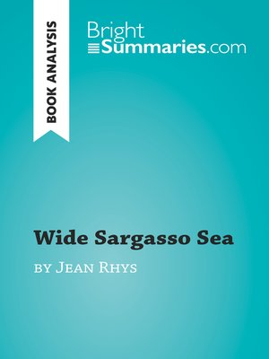 cover image of Wide Sargasso Sea by Jean Rhys (Book Analysis)