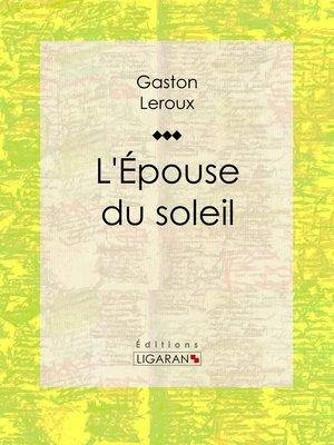 cover image of L'Epouse du soleil