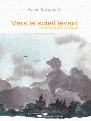cover image of Vers le soleil levant