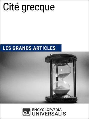 cover image of Cité grecque