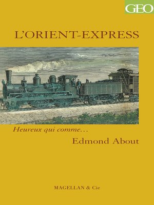 cover image of L'Orient-Express