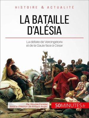 cover image of La bataille d'Alésia