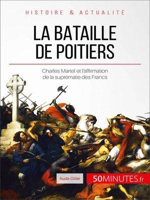 cover image of La bataille de Poitiers