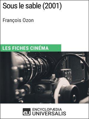 cover image of Sous le sable de François Ozon