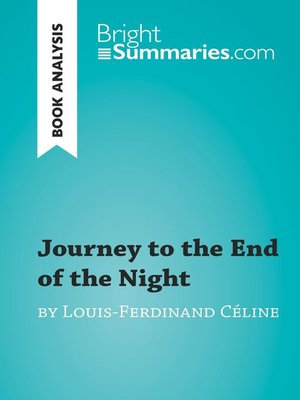 cover image of Journey to the End of the Night by Louis-Ferdinand Céline (Book Analysis)