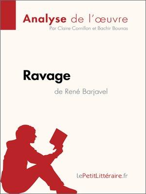 cover image of Ravage de René Barjavel (Analyse de l'oeuvre)