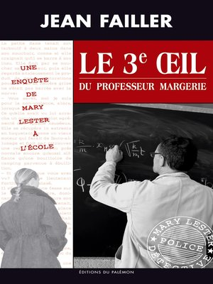 cover image of Le 3e œil du professeur Margerie
