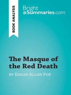 cover image of The Masque of the Red Death by Edgar Allan Poe (Book Analysis)
