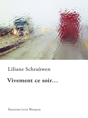 cover image of Vivement ce soir...