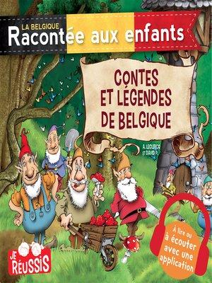 cover image of Contes et légendes de Belgique