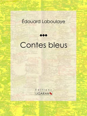 cover image of Contes bleus