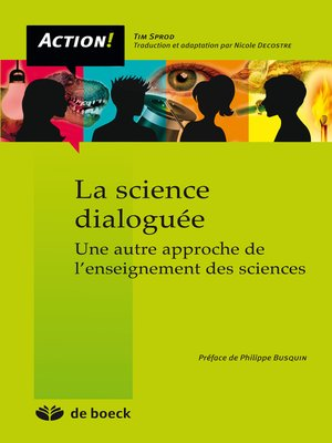cover image of La science dialoguée