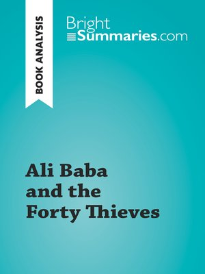 cover image of Ali Baba and the Forty Thieves (Book Analysis)